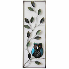 Owl In Branches Wall Decor