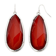 Mixit™ Red Faceted Stone Earrings