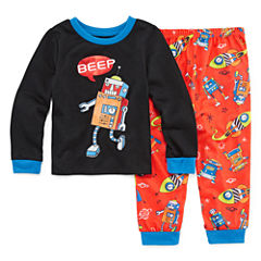 2-pc. Kids Robot Pajama Set Boys