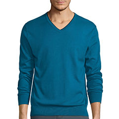 Claiborne® Long-Sleeve Thermolite V-Neck Sweater