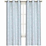 Laura Ashley® Duchess 2-Pack Grommet-Top Jacquard Curtain Panels