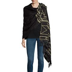 Mixit™ Aztec Blanket Wrap with Fringe