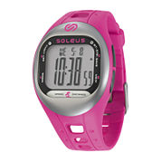 Soleus Tempo Womens Accelerometer Pink Digital Fitness Watch