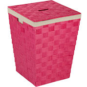 Honey-Can-Do® Woven Hamper with Liner