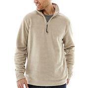 St. John's Bay® Long-Sleeve Quarter-Zip Fleece Jacket
