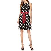 Chelsea Rose Sleeveless Fit & Flare Dress