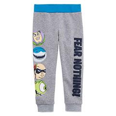 Okie Dokie Pixar Fear Nothing Fleece Pant - Toddler 2T-5T