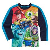 Okie Dokie Pixar Long-Sleeve Zam T-Shirt - Preschool 4-7