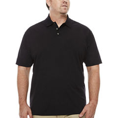 The Foundry Big & Tall Supply Co. Quick Dry Short Sleeve Polo Shirt