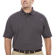 Solid Polo Shirts Gray Shirts For Men Jcpenney