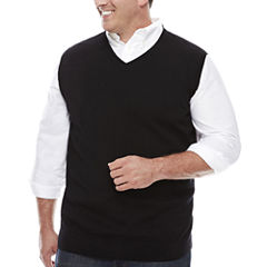 The Foundry Big & Tall Supply Co. V Neck Sweater Vest Big and Tall