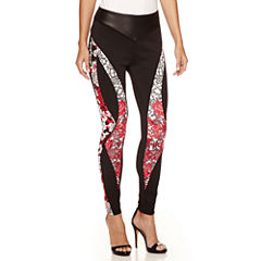 Bisou Bisou Seamed Piped Leggings
