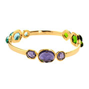 ATHRA Multicolor Stone Bangle