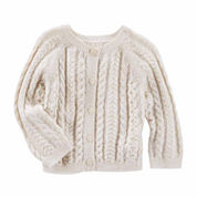 Oshkosh Long Sleeve Cotton Cardigan - Baby