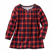 Oshkosh Long Sleeve A-Line Dress - Preschool