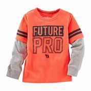 Oshkosh Boys Long Sleeve T-Shirt-Toddler