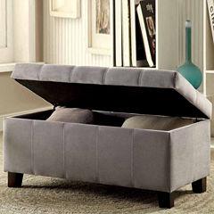 Gwen Contemporary Storage Bench