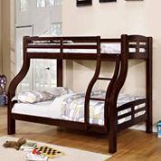 Brayden Twin Over Full Bunk Bed