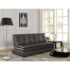 Serta Kingsley Faux-Leather Sleeper Sofa