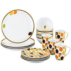 Rachael Ray® Little Hoot16-pc. Dinnerware Set