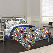 My Room Soccer Fever Complete Bedding Set with Sheets
