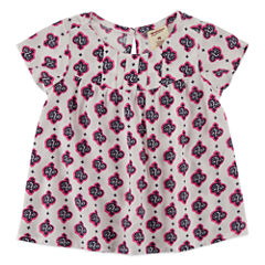 Arizona Short Sleeve Blouse - Baby Girls