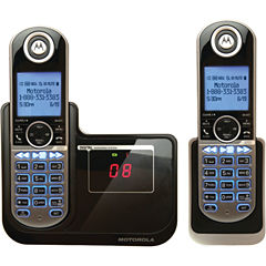 Motorola P1002 DECT 6.0 Cordless Phone System with Caller ID & Answering System & either Two or Three Handsets