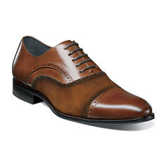 Stacy Adams® Sedgwick Mens Cap-Toe Oxfords