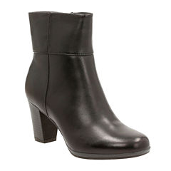 Clarks® Kalea Lynn Heeled Ankle Boots