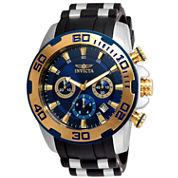 Invicta Mens Black Bracelet Watch-22339