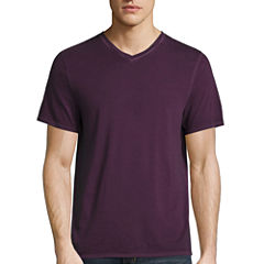 Decree Short Sleeve V Neck T-Shirt