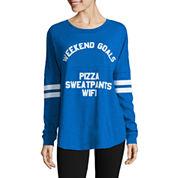 Flirtitude Long Sleeve T-Shirt-Juniors