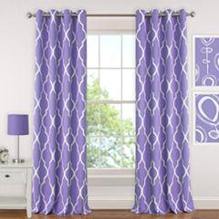 Elrene Emery Blackout Grommet-Top Curtain Panel