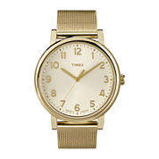 Timex® Originals Modern Gold-Tone Stainless Steel Mesh Watch T2N598AB
