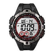 Marathon by Timex® Mens Black Resin Strap Digital Watch T5K423M6