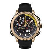 Timex® IQ Adventure Mens Black Silicone Strap Chronograph Watch TW2P44400ZA