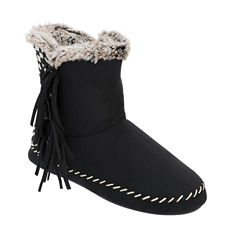 Dearfoams Tall Fringe Boot
