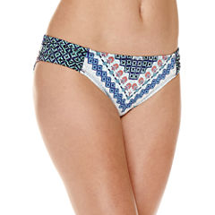 Liz Claiborne Pattern Hipster Swimsuit Bottom