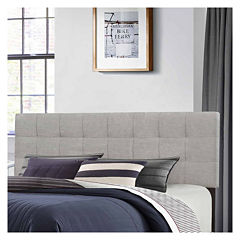 bedroom possibilities daniella upholstered headboard - Bed Frames With Headboard