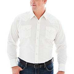 Ely Cattleman® Long-Sleeve Western Shirt-Big & Tall