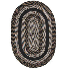 Better Trends Newport Braid Oval Rug