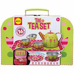 Alex Toys Tin Tea Set 16-pc. Play Food