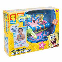 Alex Toys Spongebob Jelly Fishing Bath Toy