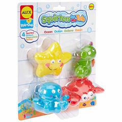 Alex Toys Rub A Dub Bath Squirters Ocean 4-pc. Toy Playset