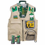 Backyard Safari Cargo Vest Unisex Dress Up Costume