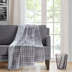 Intelligent Design Daryl Oversized Quilted Throw