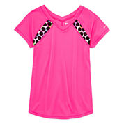 Xersion Girls Short Sleeve T-Shirt-Big Kid