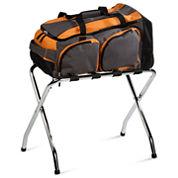 Honey-Can-Do® Chrome Luggage Rack