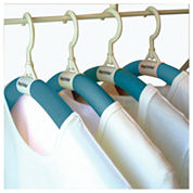 Luxury Living Bumps Be-Gone Blue Hangers 20-Pack