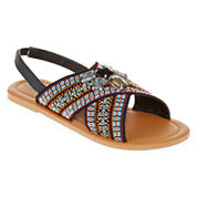 Mixit™ Tribal Criss-Cross Sandals